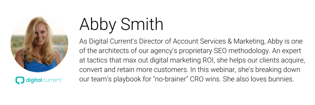 Abby Smith Is Digital Current's Director of Account Services